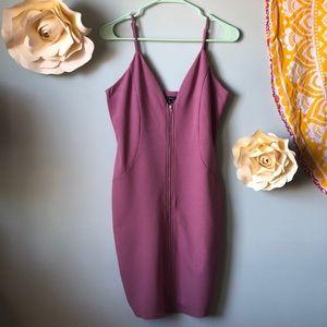 Mauve BodyCon Dress!💞